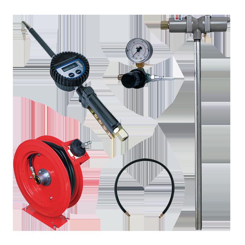 Lincoln Pump Reel & Meter